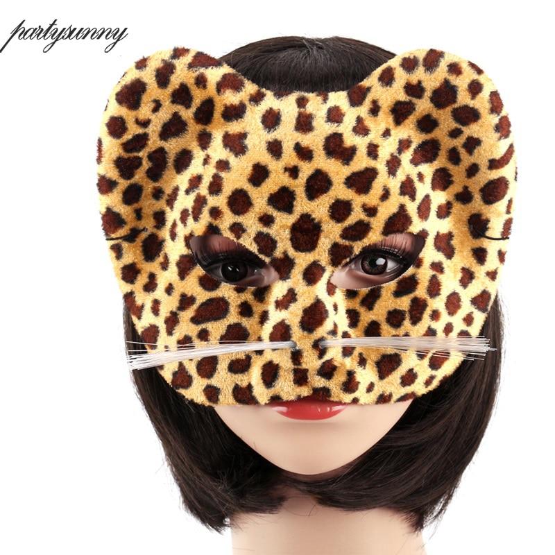1 st Halloween Party Animal Masks Cosplay Masque Kostym Tillbehör - Semester och fester - Foto 5