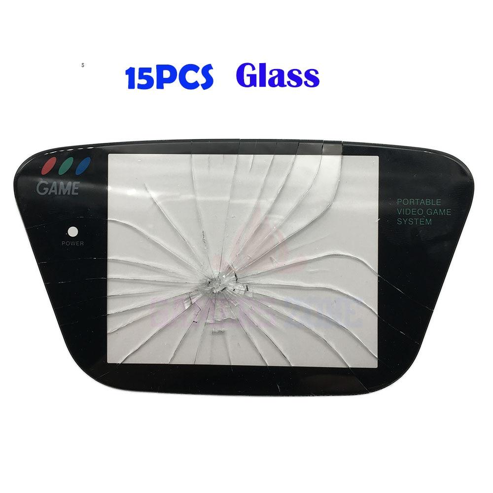 15PCS Glass Repair Part Protector Cover Screen Lens for Sega Game Gear GG Protective Lens Panel