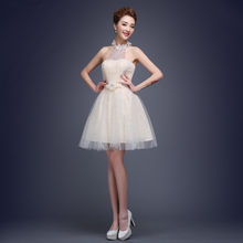 2018 Sexy Lace Short Cocktail Dresses Ladies Tull Women Beautiful Prom Dress  for Party Vestido de festa a523f5b6908d