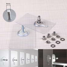 2018 Hot Sale Multifunction Punch-free Screws Strong Transparent Suction Cup Sucker Wall Hooks Hanger for Kitchen Bathroom