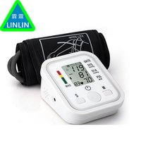 LINLIN Health Care 1pcs Digital Lcd Upper Arm Blood Pressure Monitor Heart Beat Meter Machine Tonometer for Measuring Automatic