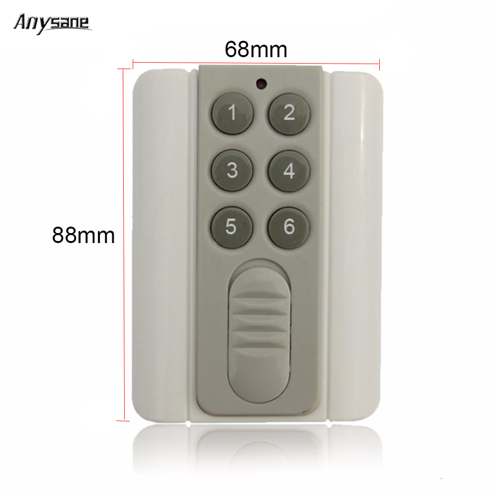 Wireless remote control controller lighting switch 433mhz rf hand ...
