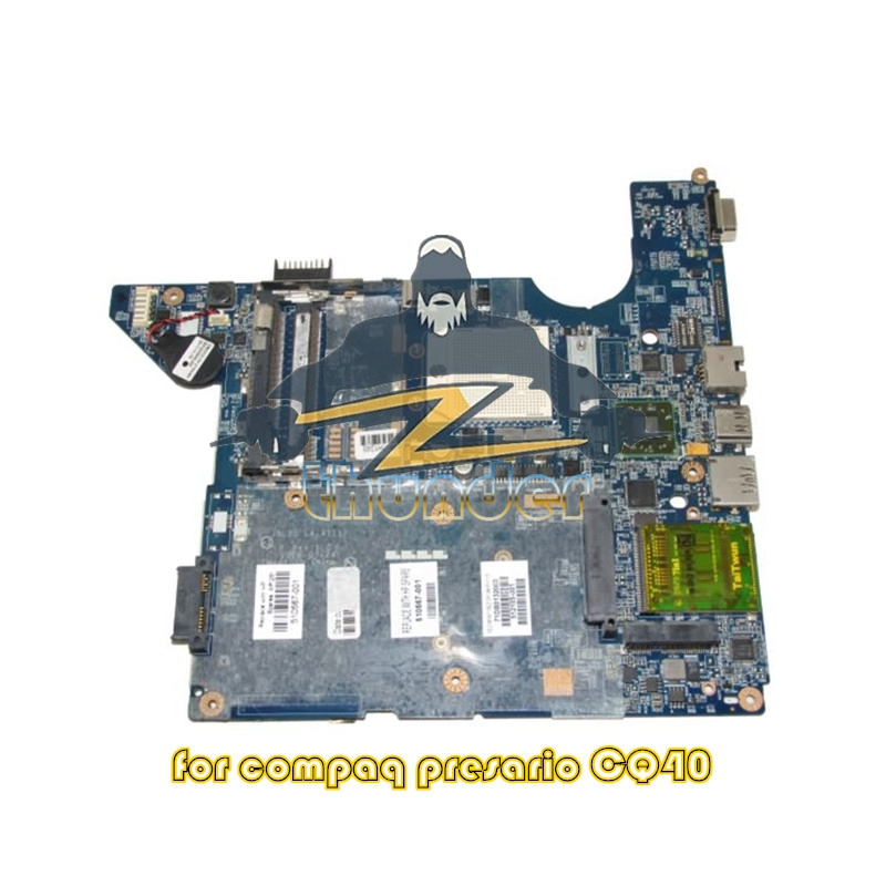 все цены на 510567-001 LA-4111P for hp compal cq40 laptop motherboard Socket s1 ddr2 Free CPU онлайн
