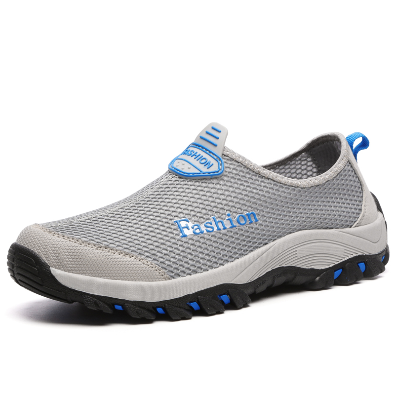 ФОТО 2017 New Men Casual Shoes, Summer Breathable Mesh Zapatillas for Men,Super Light Flats Shoes, Foot Wrapping Big Size 39-44 2018