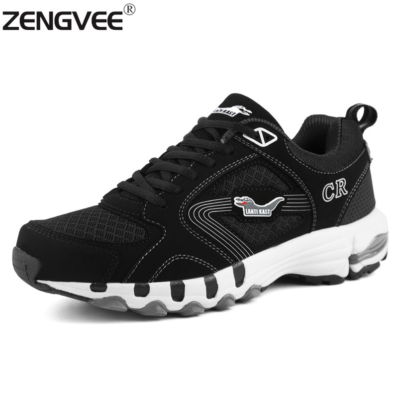 Zengvee zapatos de diseñador para hombre super star masaje primavera transpirabl