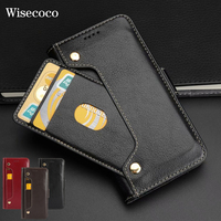 Luxury Genuine Leather Wallet Case for Iphone X 10 Soft Cradit Card Holder Pocket Stand 360 Flip Cover for Iphone 8 7 6 6s Plus