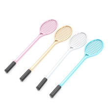 mini PVC Badminton racket for kids DIY fluffy slime form crystal soil kit clear slime Floam putty cream keyboard 19.5cm(China)