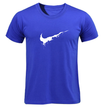 2019 New Just Color T Shirt Mens Cotton Casual T