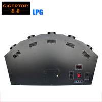 TP T155B New Fancy LPG Flame Machine 5 Head Height 1 3 Meter Spray Fire Machine Safe to Use 100/220V Stage Flame Effect Fire