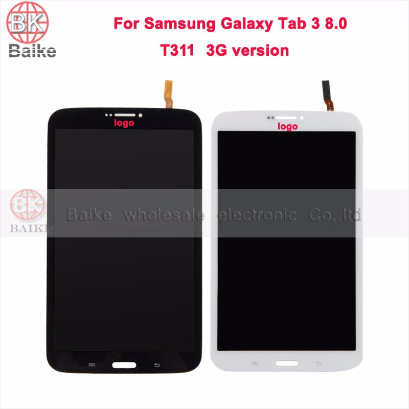 ФОТО 100% Tested 8 inch For Samsung Galaxy Tab 3 8.0 T311 T315 LCD Display Screen+Touch Digitizer Sensor Full Assembly Tablet Pc