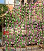 10pcs Artificial Peony Flower Leaves Vine Foliage Simulation Flowers Vine Grape Leaves Home Garden Garland Decor