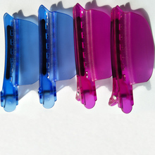 Wholesale Easy/ Speed Separator Clips Blue Color 4 pieces/lot Hair Extension Free Shipping