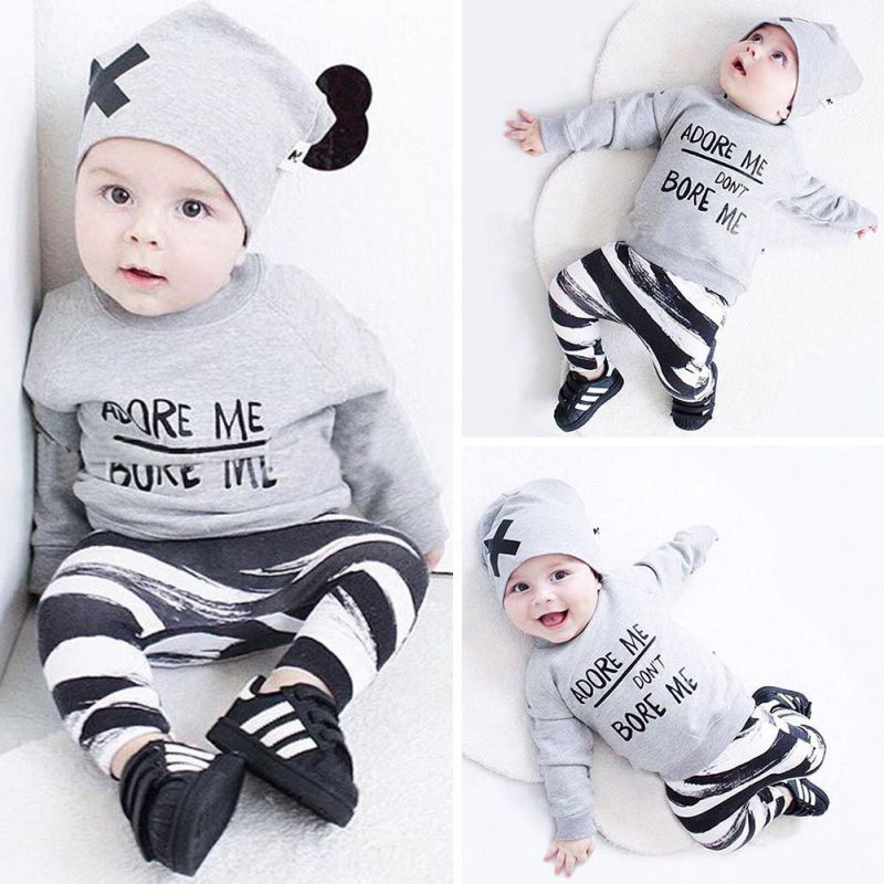 2017 Fashion Baby Boys And Girls Knitted Sweaters Clothes Letter Sweaters Fashion Baby Sweaters Clothes J2