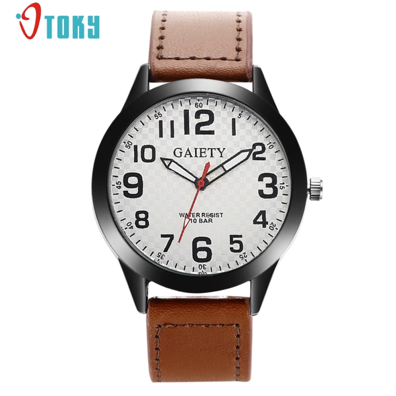 Excellent Quality Military Watches Men Leather Quartz Wrist Watch Mens Watch Reloj Relogio Luxury Men's Clock Hours Jan-12 weed science principles and application