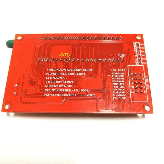 51 Microcontroller Programmer support AT89C52 24C02 93C46 300 wide range of  silicon USB burner