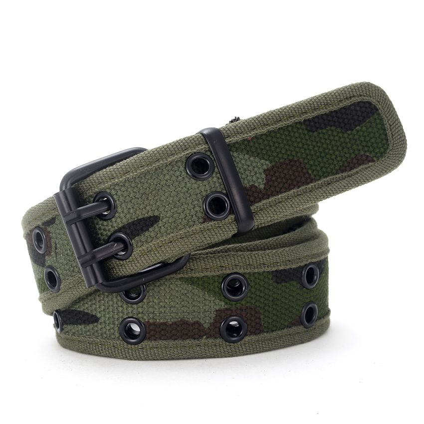Men Canvas Belt Doub