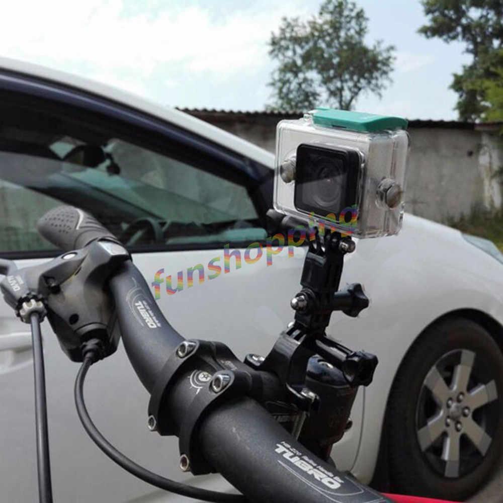 PULUZ Motocicleta Manillar Bicicleta Tija De Sillín Montaje en Poste Soporte para Pro HERO 6 tpld Go