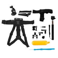 13pcs Basic Universal Action Sports Cameras Set Accessories Kits Tools for Go Pro Camera Pro Light Weight Accessories