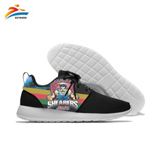Custom Sport Shoes Conandtable Jogging Steelers Walking Light Weight From Pittsburgh Style Leisure