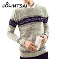 New Autumn Winter Brand Clothing Creative Men Sweaters Pullovers Knitting Slim Warm Designer Casual Men Knitwear Outwear