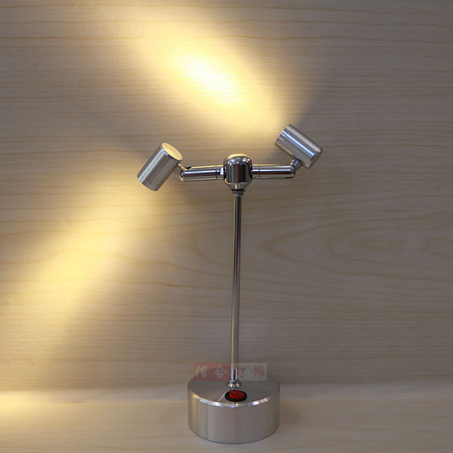 Marvelous Battery Lamp Spotlight Led Lamp Head Lamps Display Cabinet Wiring Wiring Database Ilarigelartorg