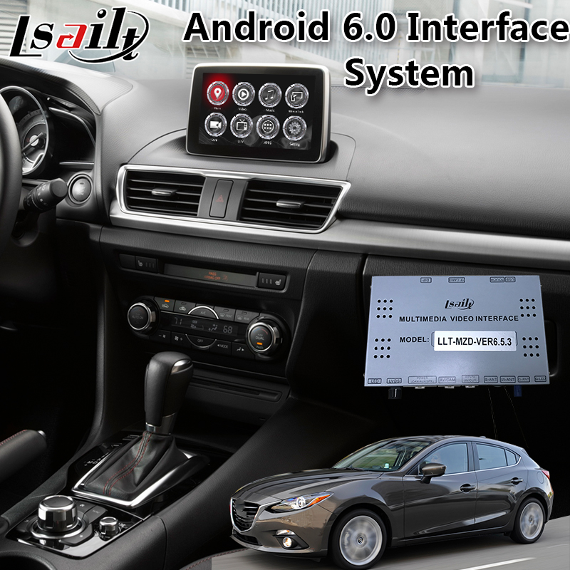 US $467 5 15% OFF|Aliexpress com : Buy GPS Navigation Android multimedia  video interface box for Mazda 3 2014 2019 year with android auto and  carplay
