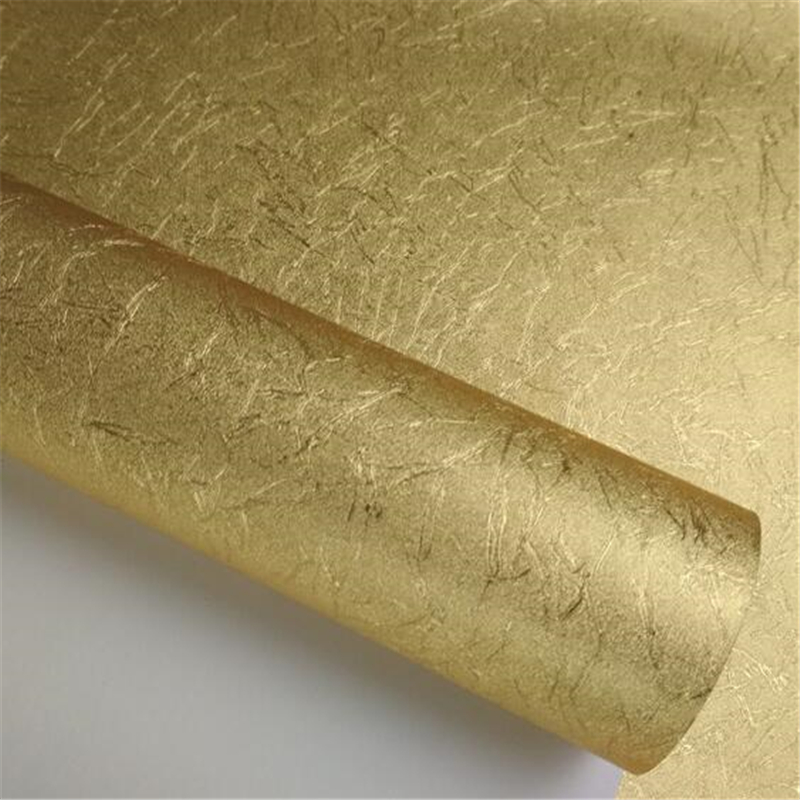 Beibehang papier peint feuille d'or haut de gamme or argent papier peint salon chambre hôtel dessin KTV plafond fond papier peint