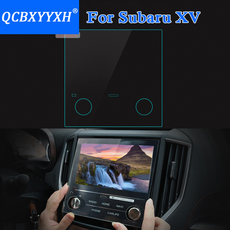 Detail Feedback Questions About Qcbxyyxh For Subaru Xv Forester 2018 Car Styling Gps Navigation Screen Gl Protective Film Dashboard Display