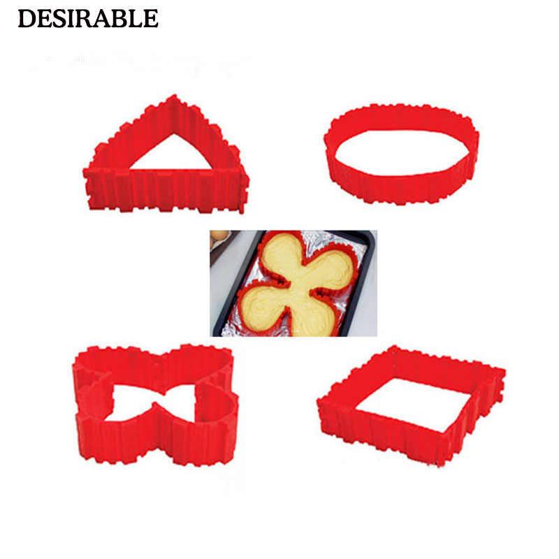 Желаемый Новый 4 шт./компл. Magic Cobras пищевой силиконовый для выпекания тортов форма для выпечки настраиваемая форма бесплатно все виды приготовления пресс-формы