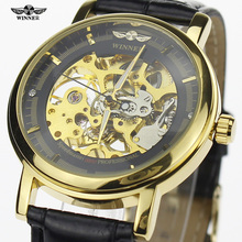 2016 ganador del Mens relojes primeras marcas de lujo analógico Dial mecánico para hombre vestido de negocios de moda del reloj Montre Homme