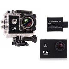 Goldfox cámara de acción 1080 p full hd cámara dv cámara de casco deporte actividades al aire libre buceo 30 m impermeable cámara