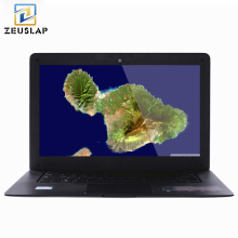 ZEUSLAP 14inch 8GB RAM+120GB SSD+1TB HDD Windows 7/10 System 1920X1080P FHD Intel Quad Core Laptop Netbook Notebook Computer