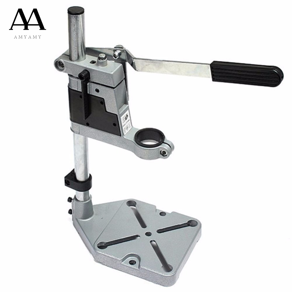 AMYAMY Floor Drill Press Stand Table for Drill Workbench Repair Tool Clamp for Drilling Collet drill Press Table 35&43mm