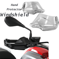 For BMW R1200GS ADV F800GS Adventure S1000XR Handguard Hand shield Protector Windshield Smoke 2013 2014 2015 2016 2017 2018