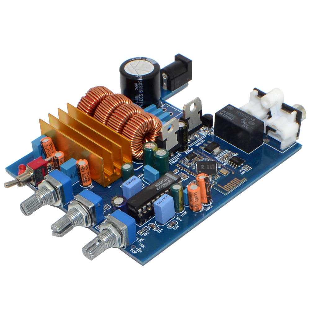 Dc18 24v 20 Channel 50w Class D Tpa3116 Lm1036 Tone Digital Irs2092 Amplifier Circuit Controlled Audio Bluetooth 2 Board With Treble