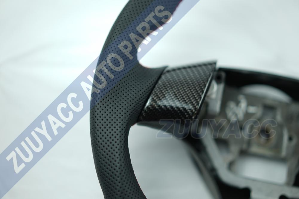 Carbon Fiber & Leather Steering Wheel for Mazda 6-in Steering Wheels & Horns from Automobiles & Motorcycles