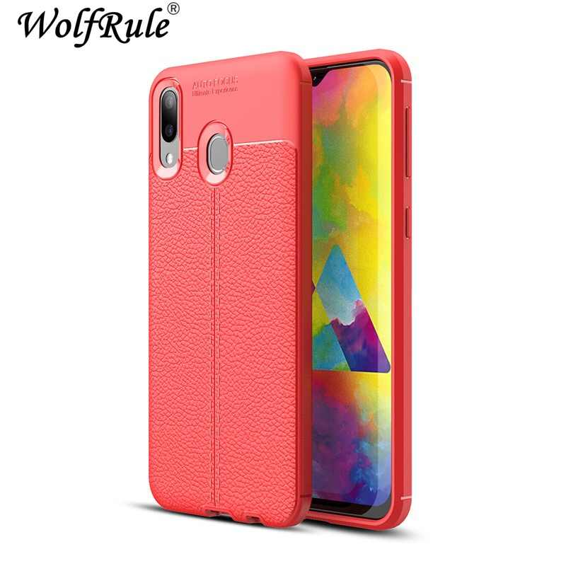 "sFor Case Samsung Galaxy M20 Cover Shockproof Luxury Leather Soft TPU Case For Samsung M20 Case SM-M205FD Fundas 6.3""]"