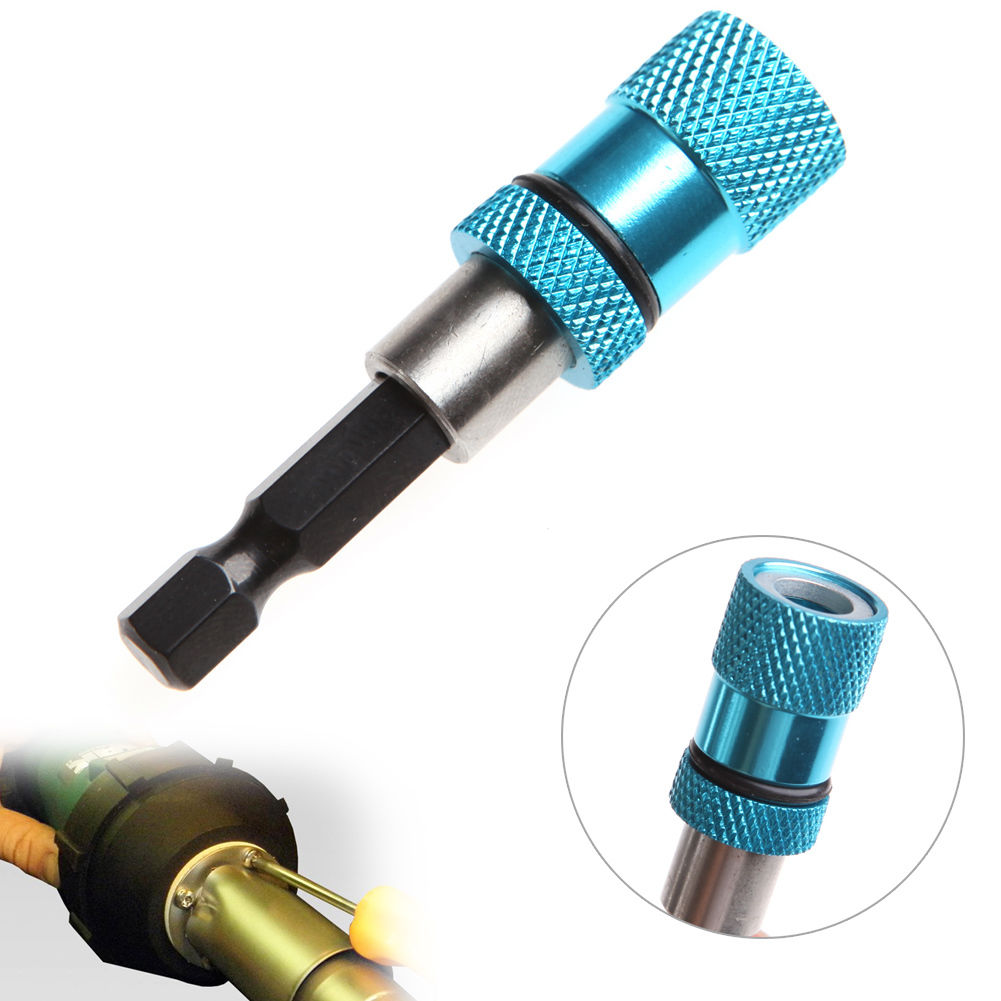 цена на 1/4 in Hex Shank Magnetic Drywall Screw Bit Holder Hex Shank Drill Screw Adapter