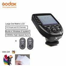 Godox XPro-N Wireless Transmitter Trigger +2Pcs Xtr16 Receiver TTL For V860ii TT600 TT350 Support 1/8000s HSS  For Nikon