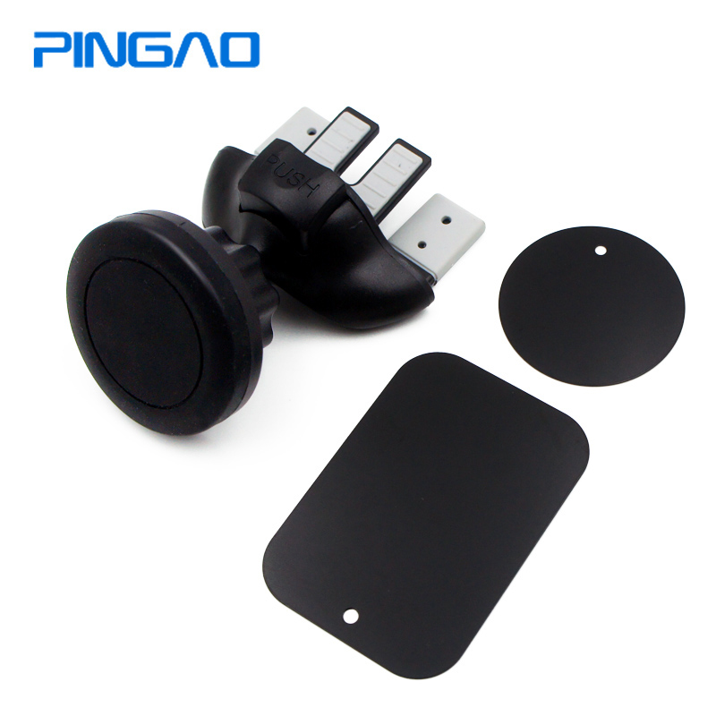 PINGAO Smartphone Car/magnetic/mobile Phone Holder Cd Slot Holder/stand/magnet/mount For Phone In Car Cell Phone Holder Magnetic