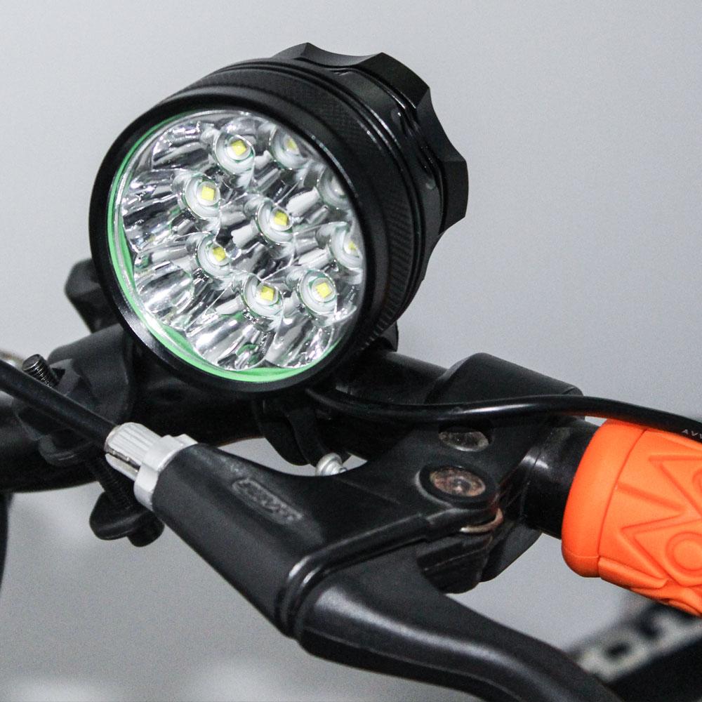 D11 Waterproof Cree XML T6 LED Flashlight 18650 Cycling Bike Bicycle Light Head Front Lights Flash Light 4 Modes Flashlight