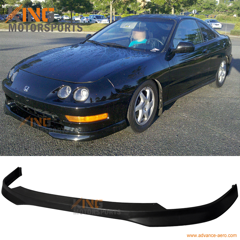 For 98-01 Acura Integra DC2 Type R Style Front Bumper Lip Urethane
