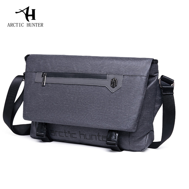 ce2bece841e ARCTIC HUNTER 2018 new men s diagonal bag shoulder bag men s business  travel fashion cross section men s bag