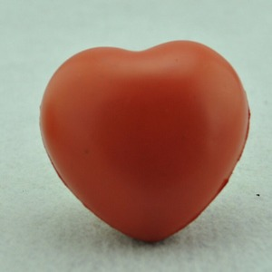 Image 5 - Small Heart Shaped Stress Relief Ball Exercise Stress Relief Squeeze Elastic Rubber Soft Foam Ball Ball Toys