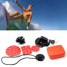 For Go Professional equipment gopro browsing mount equipment Board Mount Surf Snowboard Wakeboard Set for Gopro Hero four / three+ / three / 2 / 1