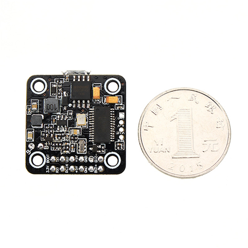 Hot Sale! Betaflight STM32F4 F4 Brushless Micro Flight Controller 20x20mm Integrated with BEC OSD for RC Racing Drone micro minimosd minim osd mini osd w kv team mod for racing f3 naze32 flight controller