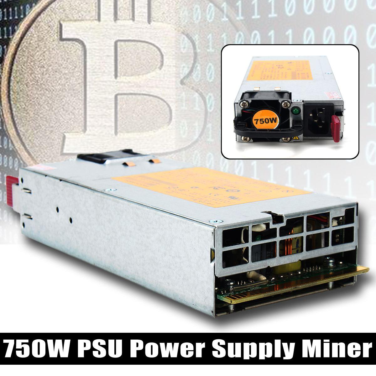 1шт 750вт электропитания PSU Горнорабочей Минируя для Antminer S3 в С1 С5 Шахтер BTC монета
