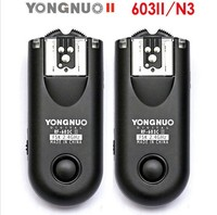 Yongnuo RF 603 II Wireless Flash Trigger N3 for Nikon D90 D600 D7100 D7000 D5100 D5000 D3100 D3000
