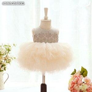 Vestido de bebé para niños pequeños vestido para niñas 1ª fiesta de cumpleaños vestido de boda vestidos de encaje princesa vestidos infantiles para niñas