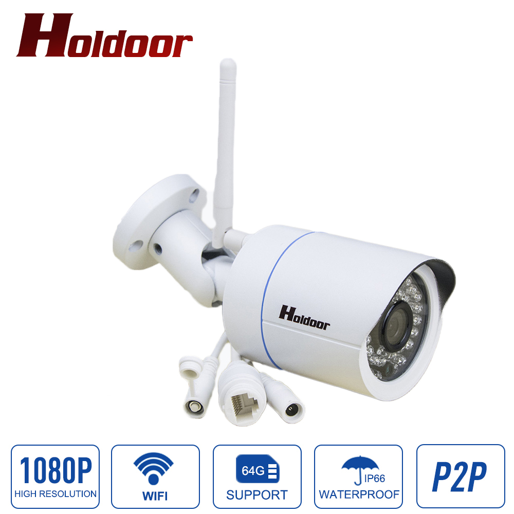 Outdoor Waterproof IP Camera HD 1080P Wifi Wireless Surveillance Camera Support Micro SD Card CCTV Cam Night Vision wanscam 1080p full hd wifi surveillance camera wireless security ip camera outdoor waterproof night vision support sd tf memory